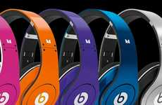 Multi-Colored MC Headgear - Beats by Dr. Dre Studio Headphones Add Vibrancy to the Collection