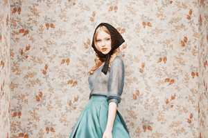 Ulyana Sergeenko Debut Collection's Features Hyper-Glamorous Looks