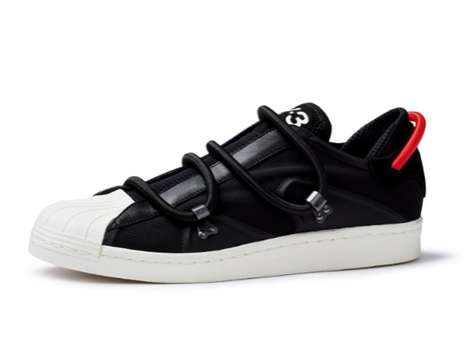 Cord-Tied Designer Kicks - Y-3 SS 2012 Sneaker Collection Gears Up for the Coming Year