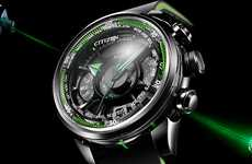 Remote GPS Watches - The Citizen Satellite Wave Remains Accurate No Matter Where You Are