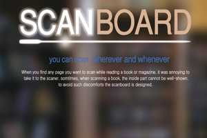 The Scan Board Makes Turning Hard Copy into Digital Text Easier
