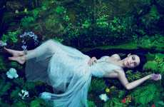Glamorous Garden of Eden Shoots - The Rooney Mara Vogue November Shots Show a Fancy Lisbeth Salander