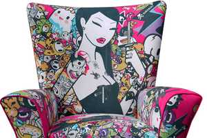 The ClickforArt Limited Edition Chairs are Artistically Hipster