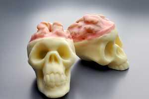 Halloween Skull Truffles Celebrate the Holiday with Tasty Treats