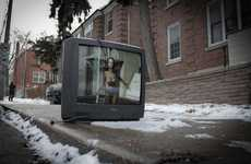 Resuscitated Discarded TVs - Alex Beker's Abandoned Televisions Shows the Importance of Memories
