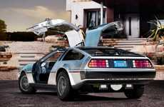 Iconic Film Car Relaunches - The All-Electric DMC-12 is Perfect for Back to the Future Fans