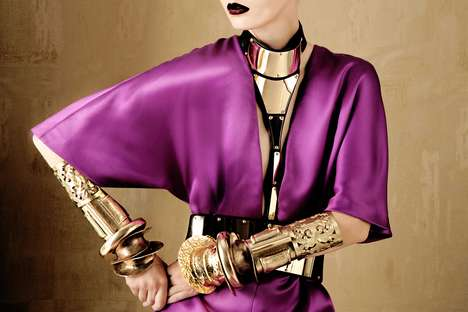 vogue italia bold gold
