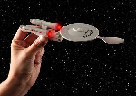 Star Trek Enterprise Feeding System