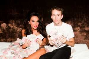The Tyler Shields Tamara Ecclestone Shoot is Rolling in the Riches