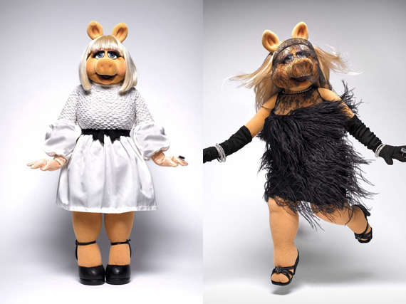 Stylish Muppet Photoshoots