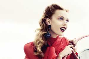 The Frida Gustavsson Ellen Sweden 2011 Editorial is Chic