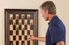 Wall-Mounted Board Games