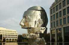 Giant Rotating Heads