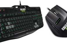 Shooting Game-Branded Peripherals - The Modern Warfare 3 Keyboard and Mouse Let You Frag like a Pro