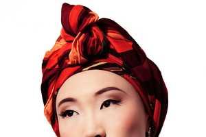 The FashionGoneRogue Beauty Porcelain Captures Show Silky Wraps