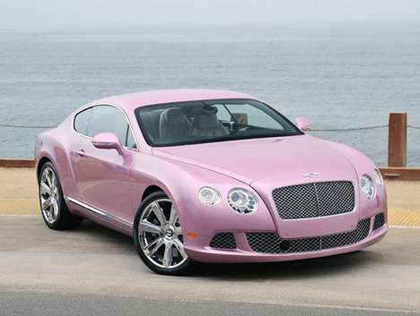 Blush Benefit Rides - The 'Passion Pink' 2012 Bentley GT is a Breast Cancer Contribution Coupe