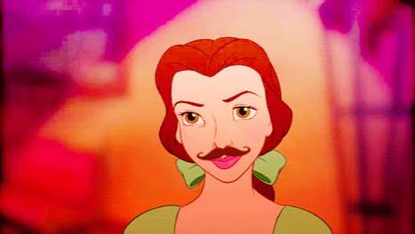 Mustache Disney Tumblr