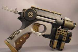The Steampunk Nerf N-Strike Nite Finder Dazzles Dangerously