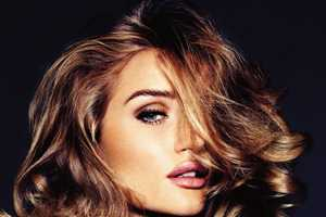 The Vogue Germany Rosie Huntington Whiteley Shoot is Skin-Bearing Beauty