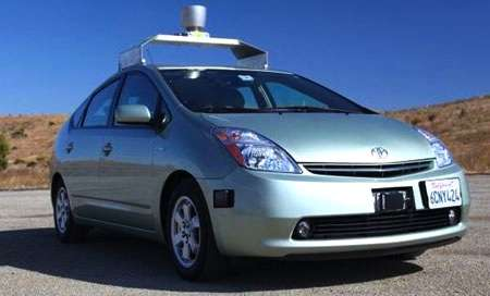 Autonomous Automotives - Sleep in the Back Seat While the Google Autonomous Car Takes the Wheel