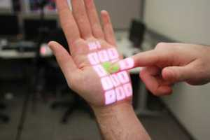 The OmniTouch Turns Any Standard Surface Interactive