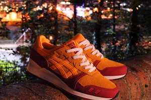 The Hanon x Asics Gel Lyte III 'Wildcats' are Decked Out in Bright Fall Colors