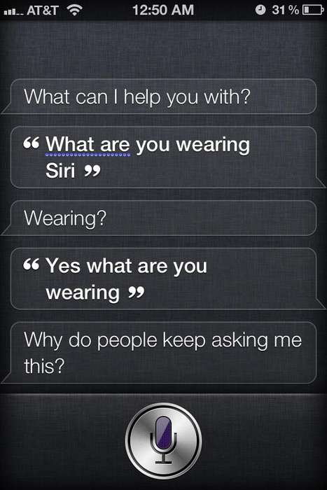 Sh*t That Siri Says