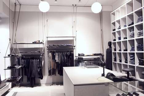 Industrial Minimalist Shops - The Local Firm's First Concept Store is Straightforward & Stylish