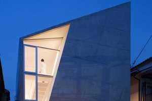 House Folded by ALPHAville Architects is a Supremely Slanted Structure