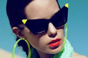 The Alexandra Black Neon Collection is Dazzlingly