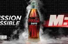 Extreme Stunt Drink Branding - Coke 'Mission Impossible' Campaign Focuses on Thrilling Action