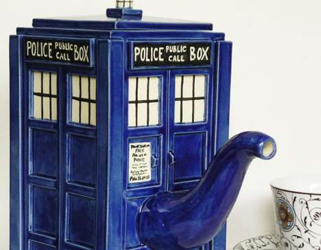 TARDIS Teapot