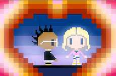 Retro Animated Singers - The Black Eyed Peas XOXO Video Transforms the Group into Cartoons