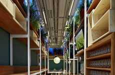 Warehouse-Style Eco Eateries