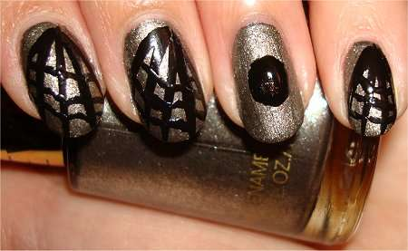Spiderweb Nail Tutorial
