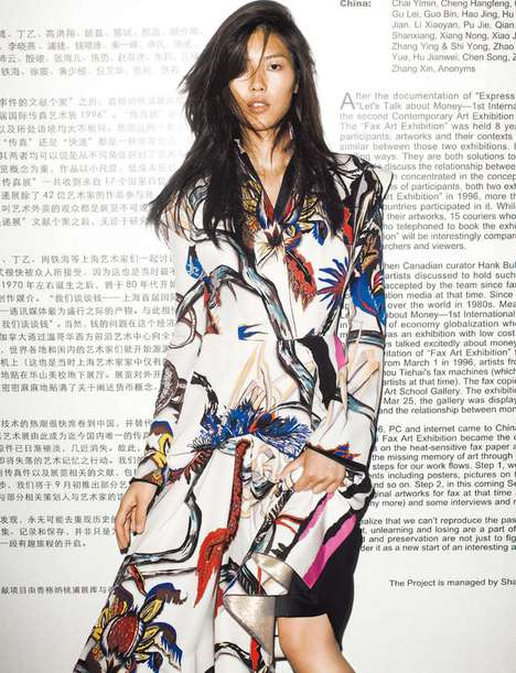 Liu Wen October Numéro China