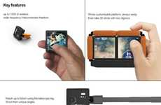 Conjoined Camera Concepts - The Digimo Camera is Designed to Give Photographers More Freedom