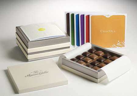 Customized Luxury Chocolates - Nestle's Maison Cailler Sweets are Personalized to Individual Tastes
