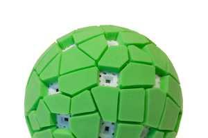 The Throwable Panoramic Ball Camera Seizes One's Surroundings