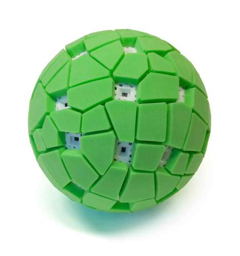 Spherical Sweeping Picture-Takers - The Throwable Panoramic Ball Camera Seizes One's Surroundings