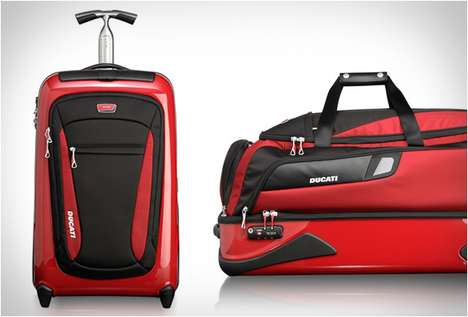 Ducati x TUMI Luggage Collection