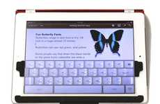 Malleable Tablet Keypads - The TouchFire Top-Screen Keyboard Offers the Physical Touch of Typing