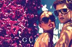 Flirty Floral Campaigns - The Gucci Cruise 2012 Campaign is Sweet and Simple