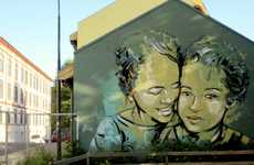 Women-Centered Paintings - The Alice Pasquini Street Art is Highly Inspiraing and Creative
