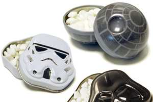 Star Wars Tinned Confectionary Eliminates Bad Breath with the Force