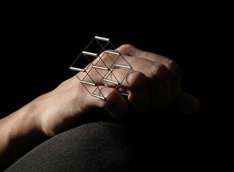 3D Geometric Accessories - The Jewelry by Unosto is Experimental, Bold and Unexpected