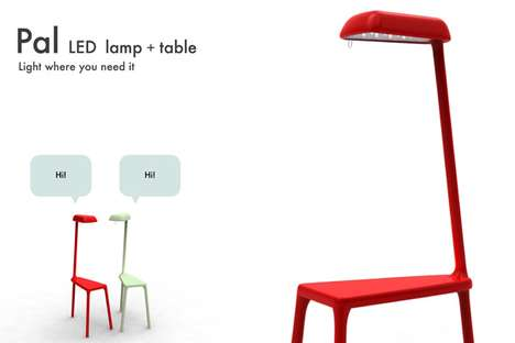 PAL Lamp Table