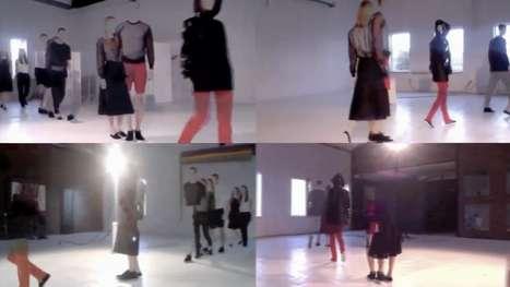 Web-Based Fashion Shows - Ksenia Schnaider Presents an All-Internet Runway