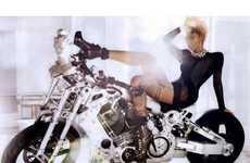 60 Badass Biker Babe Editorials