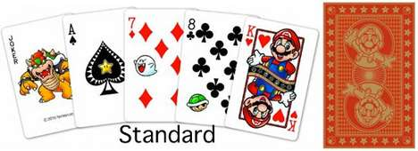 Super Mario Playing Cards